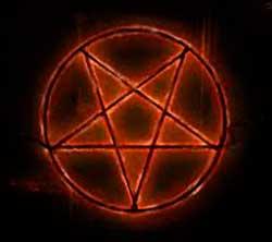 Pentagrama sacerdocio real for Cara pintada diablo